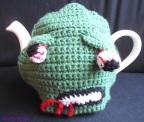 Zombie tea cosy
