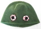 Zombie eyeball hat