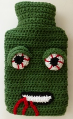 Zombie hot water bottle