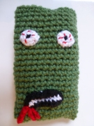 Zombie mobile phone cover at Quirky Purple